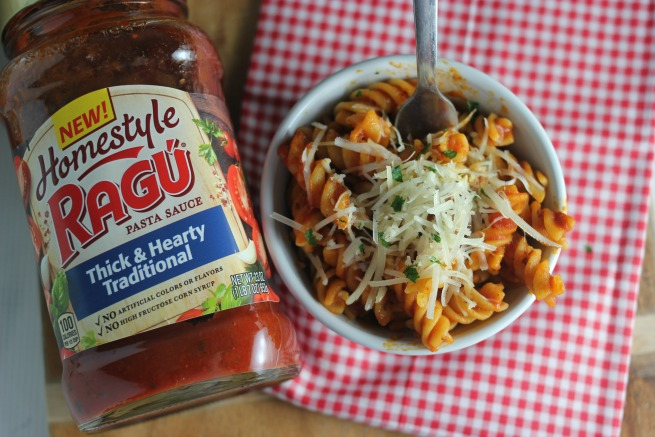 One Pot Spicy Rotini Pasta