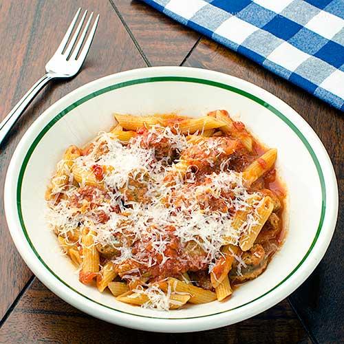 Italian Sausage and Tomato Sauce