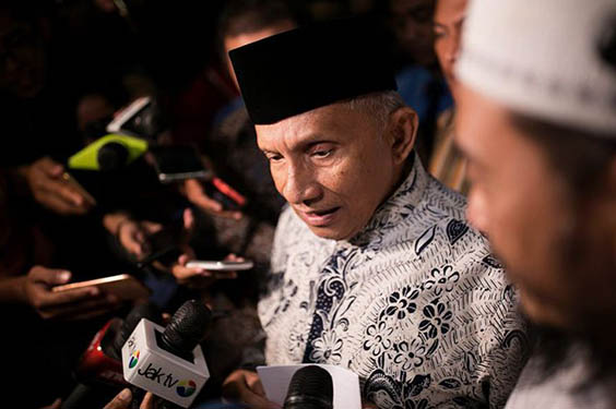 Amien Rais Memerintahkan Kepada Kadernya Mundur Dari Pemerintahan Jokowi
