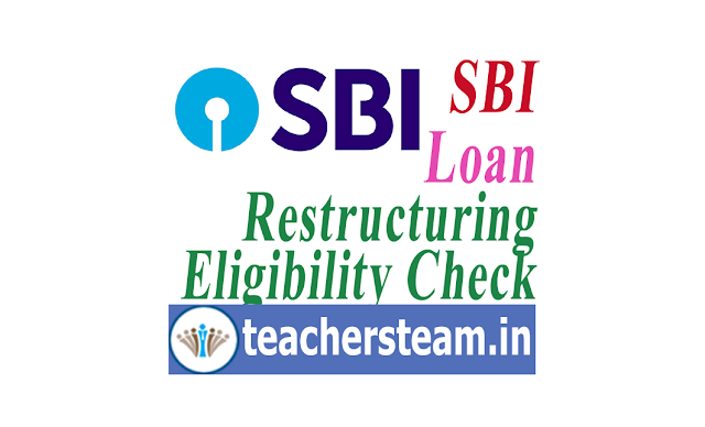 SBI Loan Restructuring Scheme check Eligibility Here