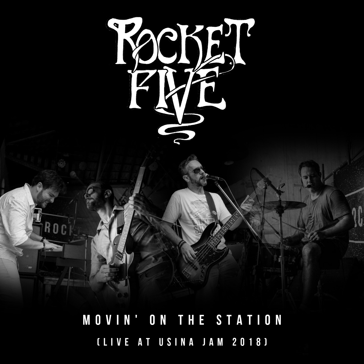 "Resultado de imagem para Rocket Five – ""Movin' On the Station (Live at Usina Jam)"""