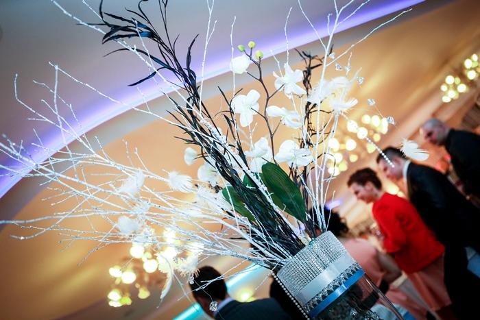 dekoracja sali weselnej, inspiracja