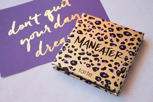 Tarte Maneater Eyeshadow Review and Swatches