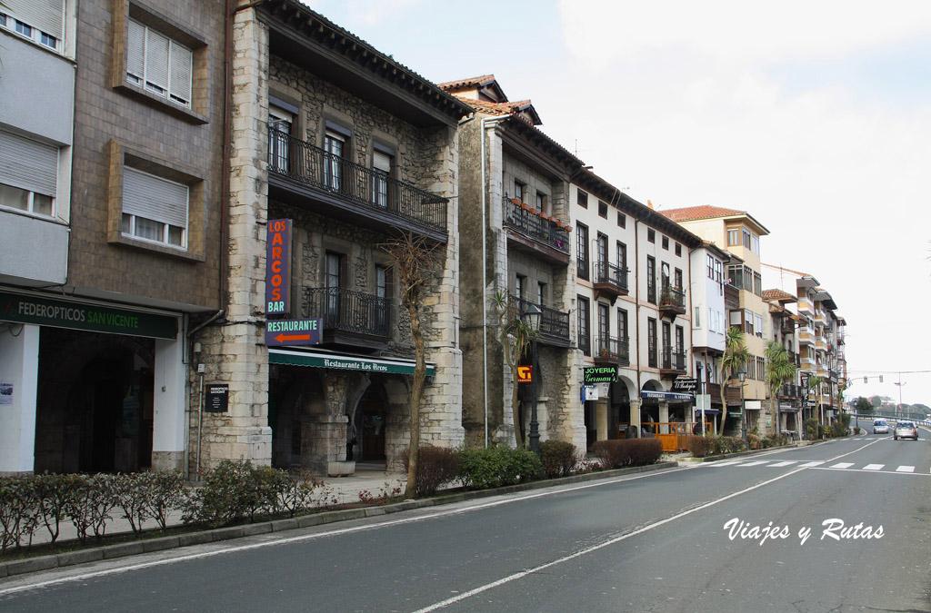 Calles de San Vicente de la Barquera