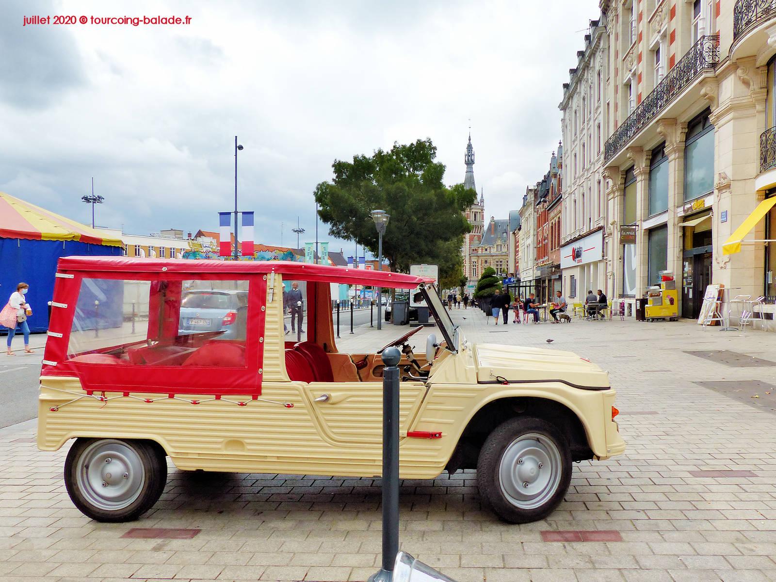 Mehari Citroën, Tourcoing Grand Place 2020
