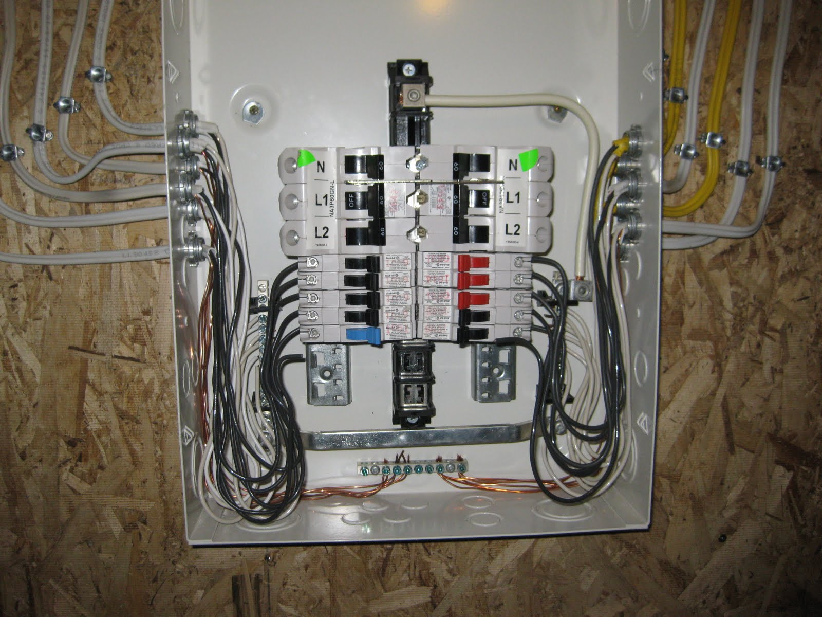 Wiring In A Breaker Box