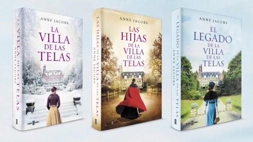 Bitácora De Mis Lecturas El Legado De La Villa De Las Telas Anne Jacobs