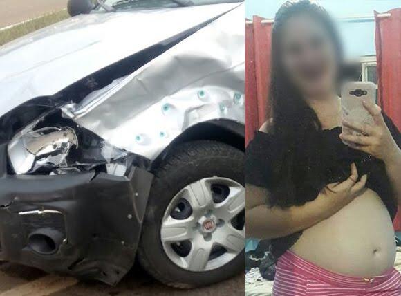 Acidente brutal mata grávida de 05 meses na BR 364 em Cacoal