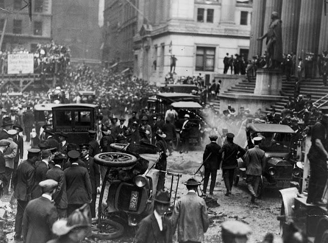 El atentado de Wall Street en 1920