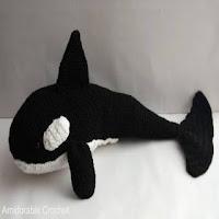 PATRON ORCA AMIGURUMI 2860