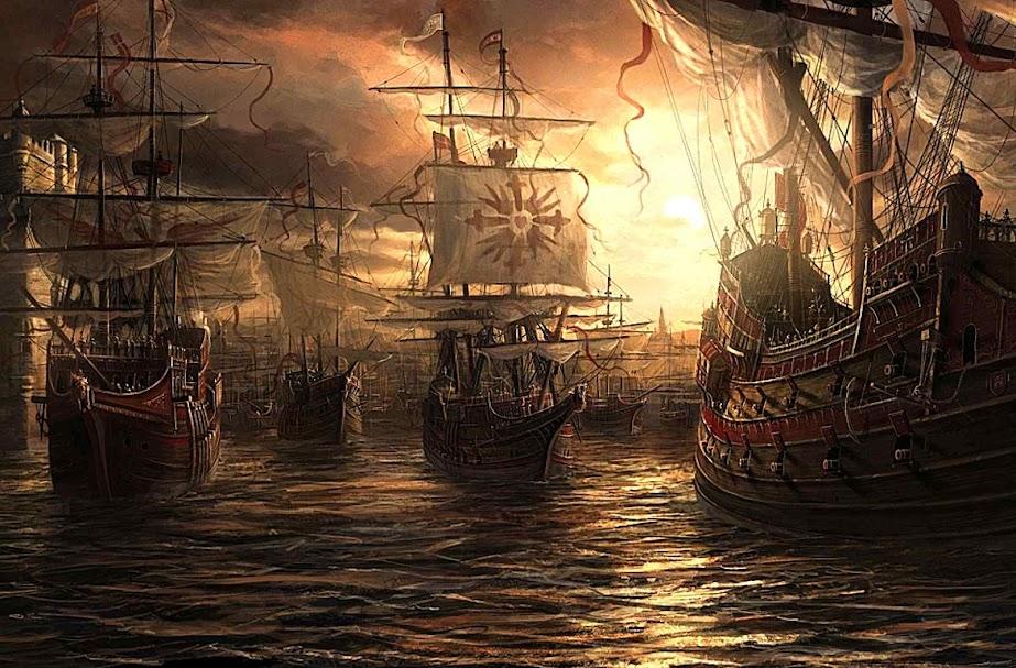 Armada Invencível se prepara para partir