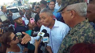 Francisco Fernández visita nuevamente Junta Electoral de SDN junto a militantes