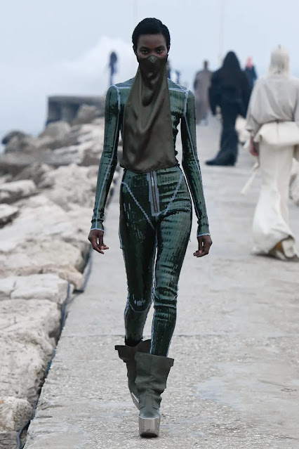 apocalyptic fashion at Rick Owens Fall Winter 2021