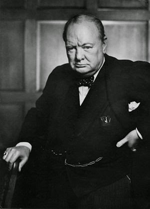 Winston Churchill (from Wikipedia)