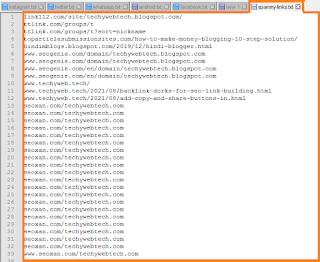 Open The CSV file,