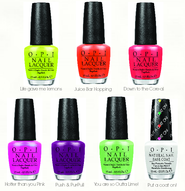 NEONS by OPI Limited Edition - Preview