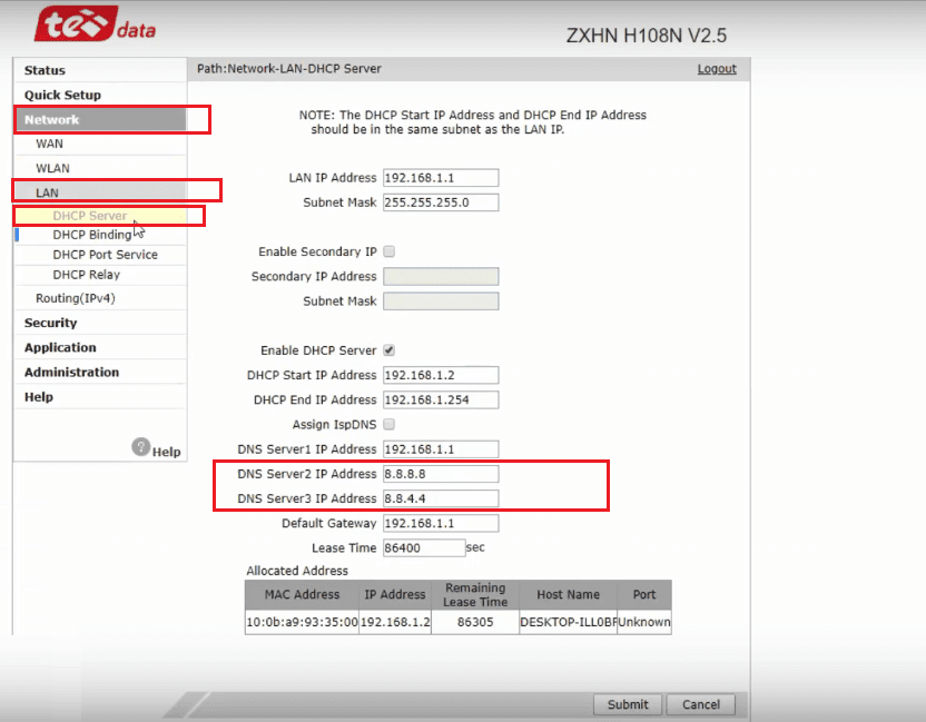 كيفية تسريع الانترنت على الكمبيوتر