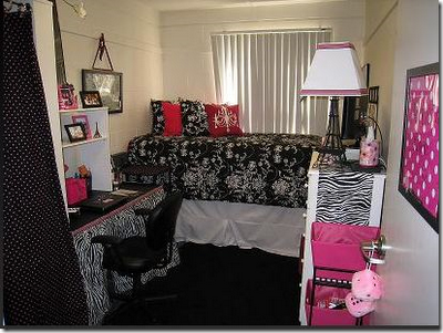 Young Chic and Social: Small Spaces and Dorm Room Inspo