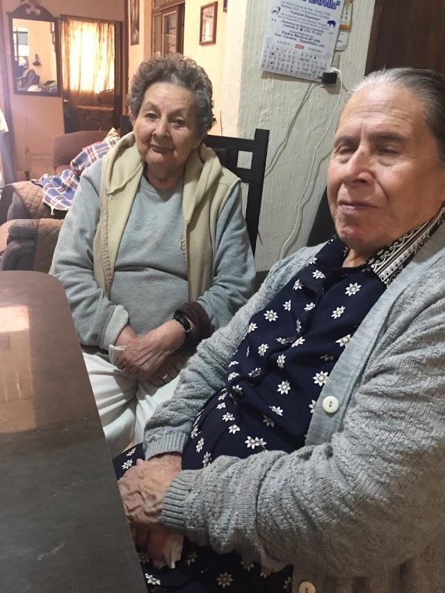 Tomasita, 63 años de catequista