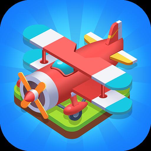 Merge Plane - Click & Idle Tycoon v1.15.1 Apk Mod [Dinheiro Infinito]
