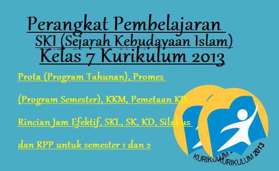 Download Perangkat Pembelajaran SKI Kurikulum 2013