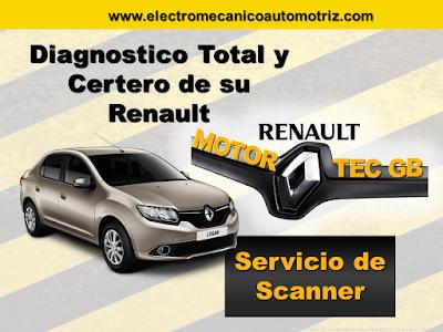 Diagnostico y Servicio de Escaner Renault