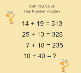 Math Puzzles Game Level 13 Answer with Solution