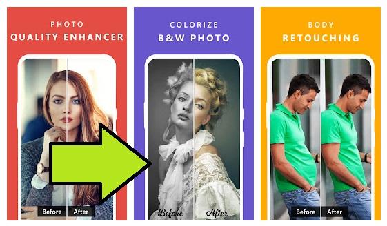 تنزيل افضل تطبيقات المجانية لتحسين جودة الصور القديمة بضغطة واحدة فقط