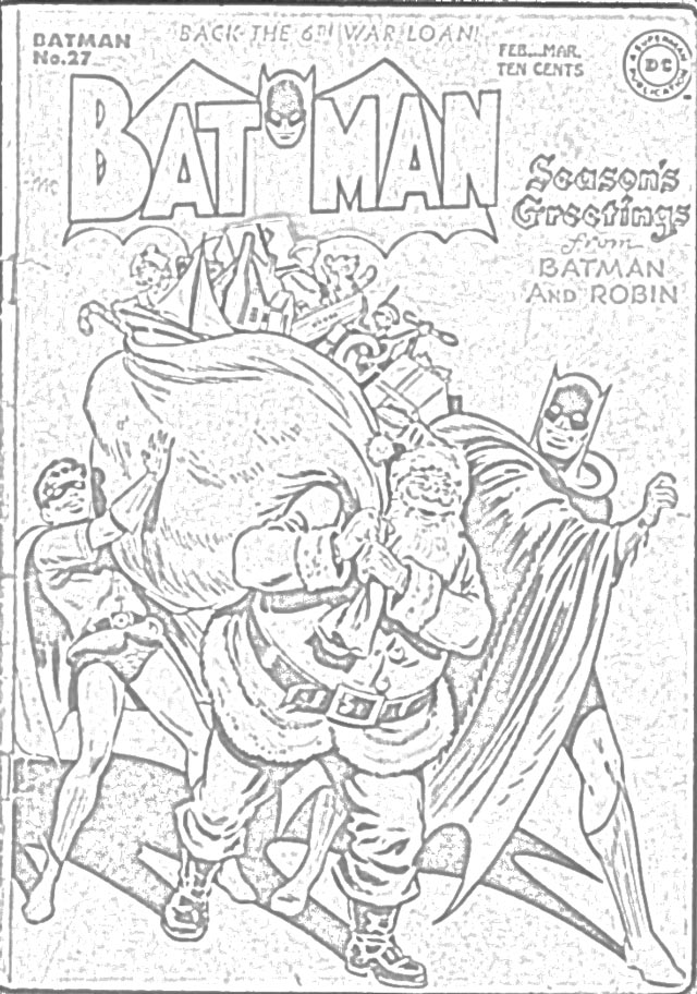 batman and robin coloring pages to print Coloring4free ... | 912x640