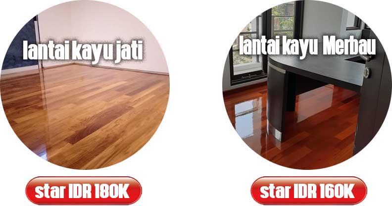 harga lantai kayu merbau dan jati
