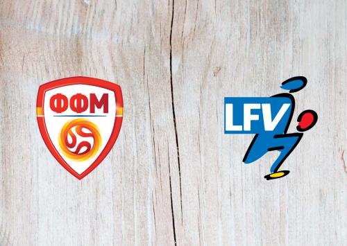 North Macedonia vs Liechtenstein -Highlights 28 March 2021