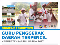 Lowongan Guru Penggerak Daerah Terpencil 2017