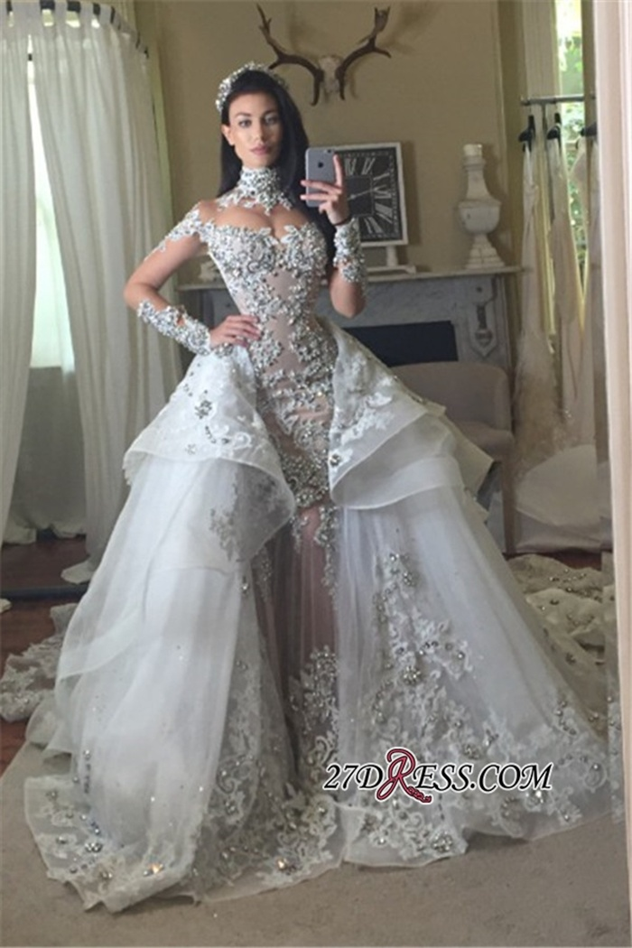 https://www.27dress.com/p/appliques-high-neck-tulle-long-sleeves-glamorous-detachable-train-wedding-dresses-106897.html