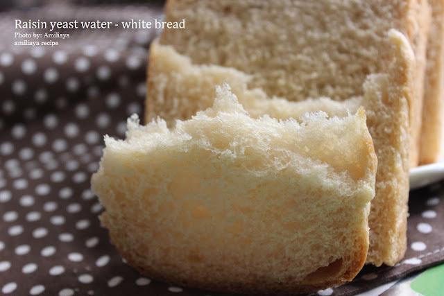 Raisin yeast water - white bread