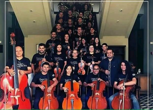 Orquestra Jovem do SESC Caixeiral e Coral do IFPI se apresentam no Teatro Saraiva nesse sábado.