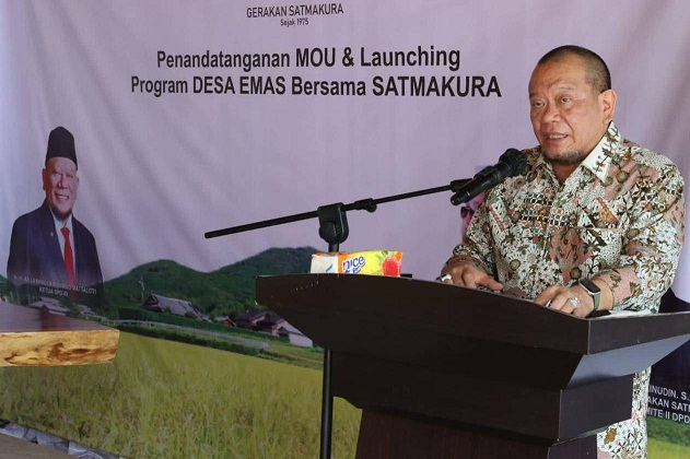 LaNyalla: DPD RI Dukung Pemberdayaan Kawasan Pedesaan