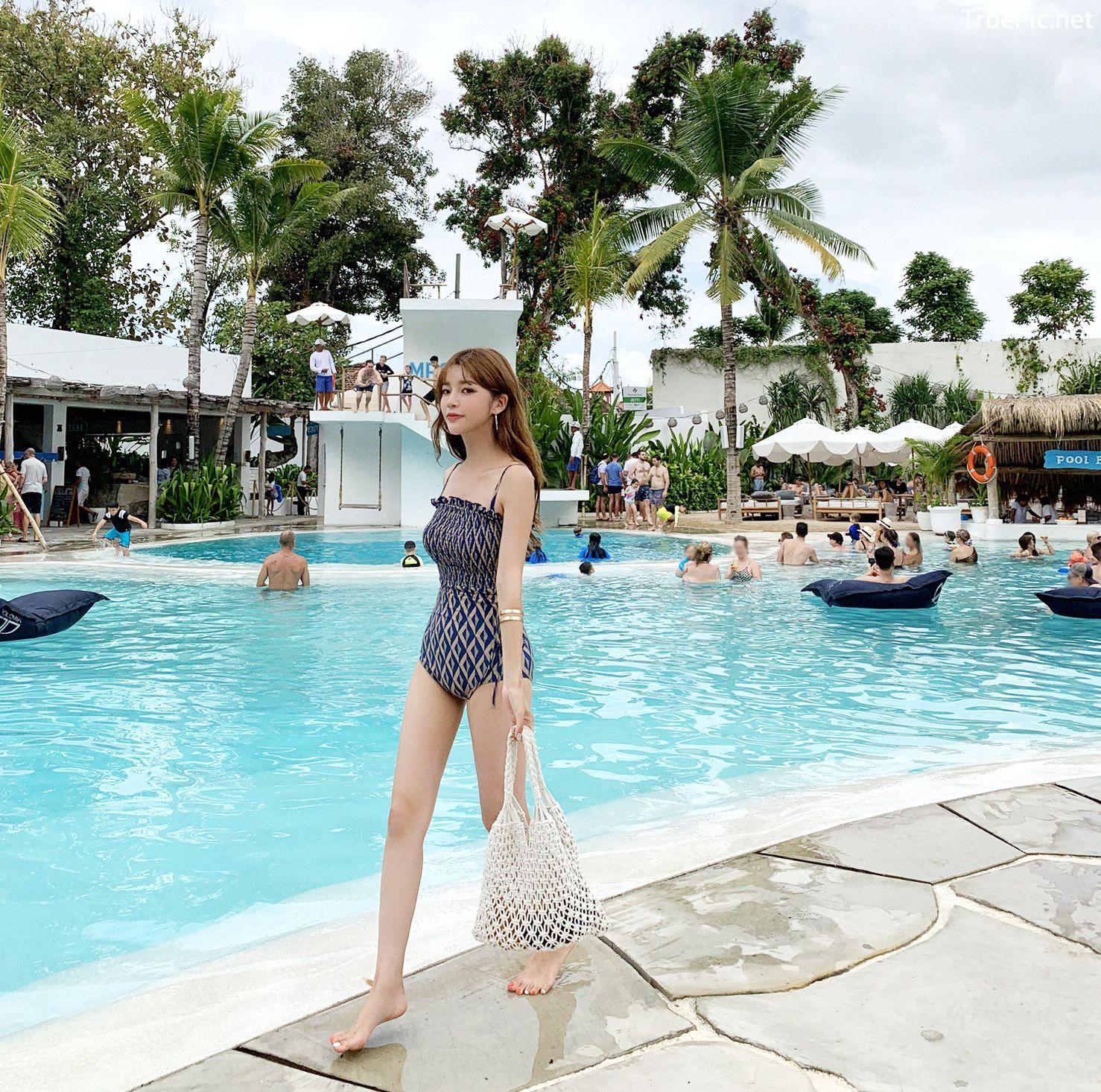 Image Korean Fashion Model - Cha Yoo Jin - Diamond Smoke Monokini - TruePic.net - Picture-10