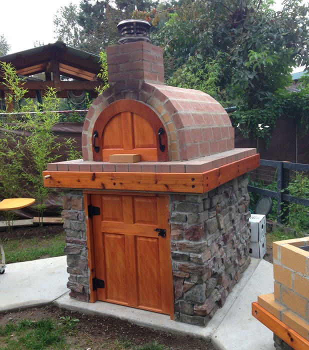 BrickWood Ovens: Castillo Wood Fired Brick Pizza Oven & La ...