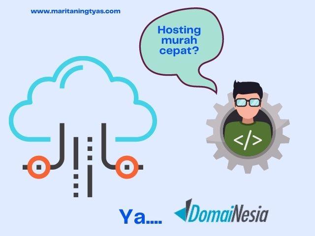 hosting murah cepat domainesia