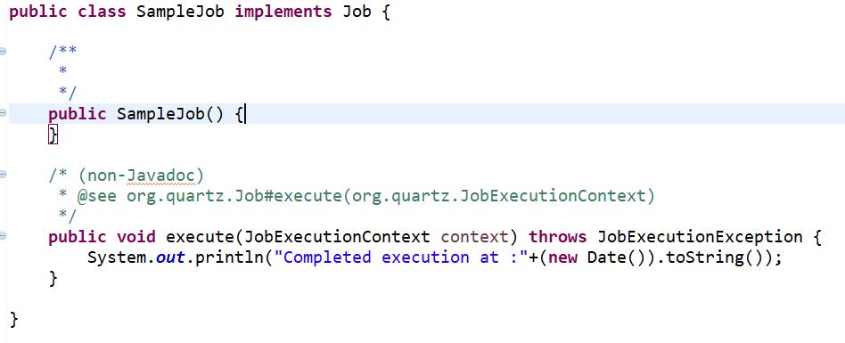Coding Square: Quartz Scheduler Introduction