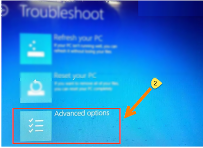 "Mengatasi Windows 8,10 Tampil Error ""There Was a Problem Resetting Your PC"", Begini cara mengatasinya"
