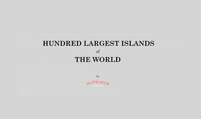 100 largest Islands in the world