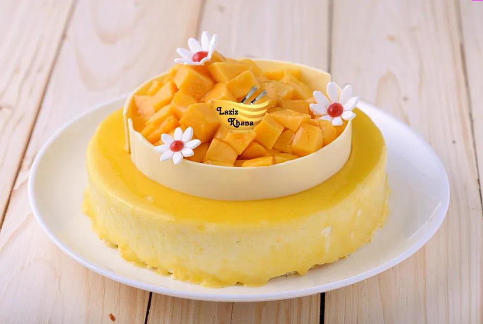 Mango Cake Recipe in Hindi