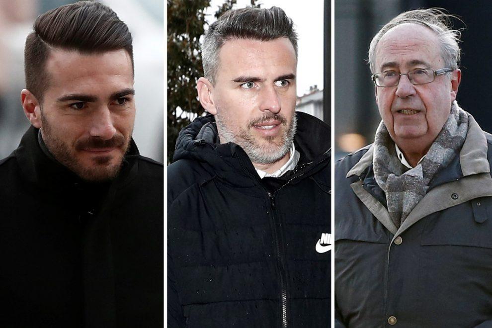 Five former directors of La Liga club