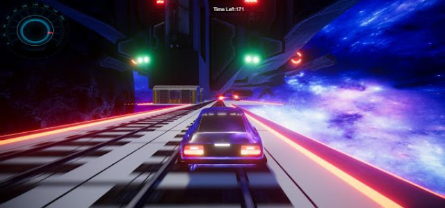 RaceXXL Space an unusual version of the classic arcade car racing, a game in which you are waiting for racing on cool cars on tracks built right in space, cool atmosphere and much more