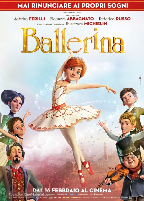Ballerina (2016) Dual Audio Hindi 300MB BluRay 480p ESubs
