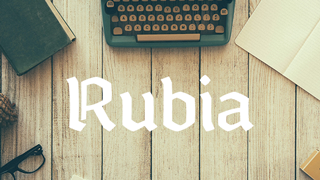 Rubia-Perfect-Parallel-Typeface-Download