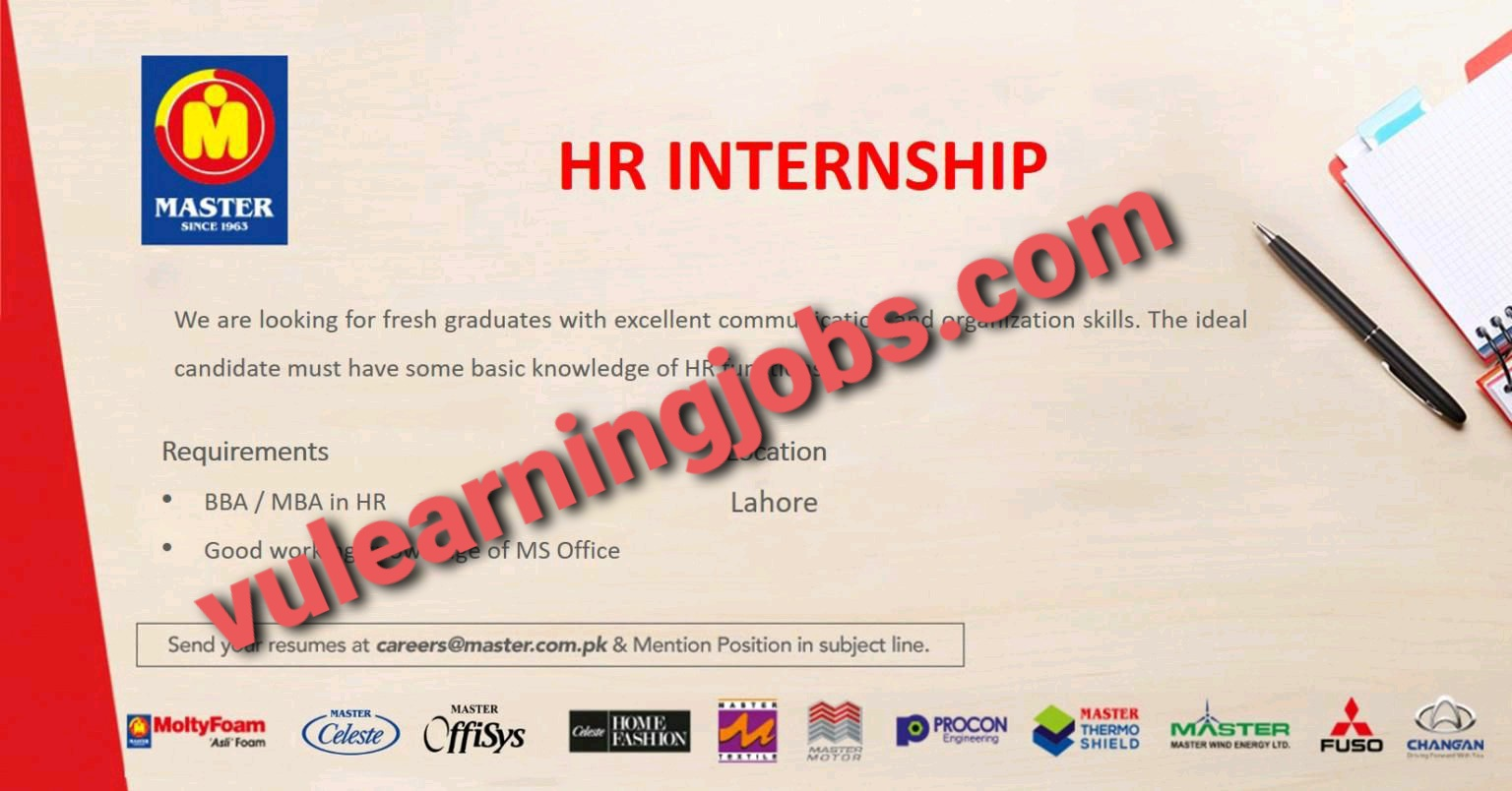 Master Group April Jobs In Pakistan 2021 Latest | Apply Now