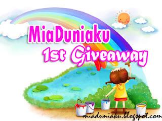 MiaDuniaku 1st Giveaway