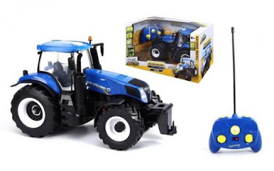 Maisto Tech Tractor New Holland 2